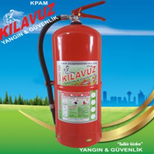 12 Kg ABC Tozlu Yangın Söndürme Cihazı (Kuru Kimyevi Tozlu)
