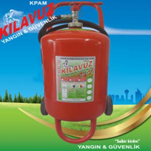 25 Kg ABC Tozlu Yangın Söndürme Cihazı (Kuru Kimyevi Tozlu)