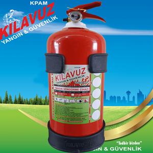 2 Kg ABC Tozlu Yangın Söndürme Cihazı (Kuru Kimyevi Tozlu)