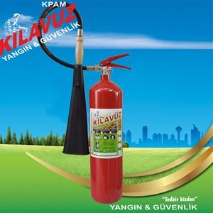 5 Kg CO2 Gazlı Yangın Söndürme Cihazı (Karbondioksit Gazlı)