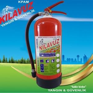 6 Kg Halokarbon Gazlı Yangın Söndürme Cihazı (HFCfa236 Gazlı)