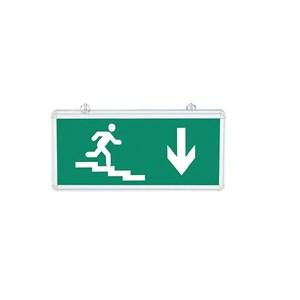 Exit (Çift Yönlü - Aşağı Merdivenli Yazısız)